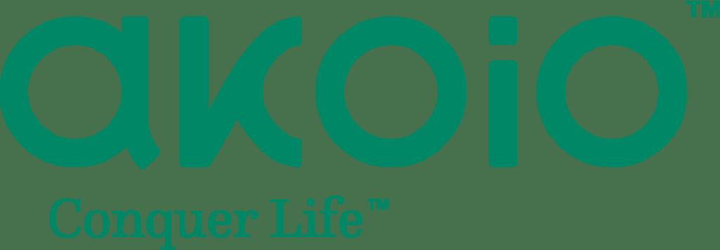Akoio Conquer Life logo