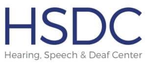 HSDC Hearing Speech and Deaf Center logo